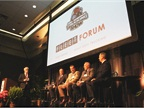 HDT's Truck Fleet Innovators panel at the MATS Fleet Forum. Photo: Evan Lockridge
