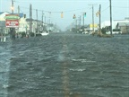 Flooding in Dare County, N.C. Photo: NCDOT