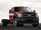 Photo of F-450 Super Duty chassis cab courtesy of Ford.