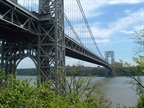 The George Washington Bridge: Photo via Wikipedia Commons.