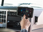 The Geotab Garmin ELD bundle includes the Geotab Cloud ELD, Garmin Fleet 790 tablet, HD dash camera, LTE connectivity, vehicle charger, and suction cup mount. Photo: Garmin