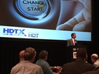 Jeff Sass addressing attendees of first HDTX fleet networking