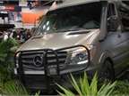 Mercedes-Benz showed a rugged off-road Sprinter at the Work Truck Show. Photo by Chris Wolski.