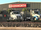 The first Kenworth dealership has opened  in Hawaii, allowing customers in the Aloha State to purchase KWs without going through stateside dealers. Photo: Kenworth