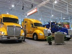 The Kenworth booth at the 2014 TMC Annual Meeting. Photo: HDT