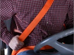 Seat belt use by truck and  bus drivers has risen to 86%, compared to 65% in 2007, according to FCMSA survey. Photo: IMMI