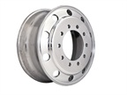 Accuride's new aluminum wheels is said to save 5-7% in weight over previous models. Photo: Accuride