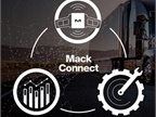 Mack Connect is a suite of tools designed to help customers and drivers manage productivity and profitability. Images: Mack Trucks
