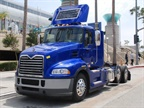 Mack s hybrid drayage truck is based on the Pinnacle daycab model.