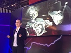 Meritor s Cheri Lantz explains that the e-carrier is an electric motor