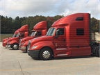 Navistar included all its latest models for test drives at an event at its proving grounds outside of New Carlisle, IN, earlier this week.<br />Photo: Jack Roberts