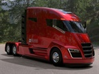 The Nikola One hybrid-electric truck. Image: Nikola Motors