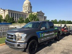 On May 11 the propane autogas Ford F-150 visited the State Capitol in