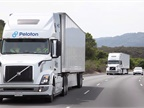 A new study found that adaptive cruise control systems can help maintian mobility, safety, driver comfort, and fuel consumption in platooning operations. Photo: Peloton