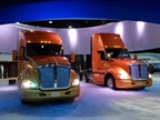 Over the years, truck builders like Kenworth unveiled new models at MATS. That won't happen in 2016, but many other exhibitors will be there to show off their wares. Photos: Tom Berg