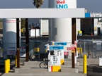 The Shell LNG lanes in Santa Nella, California. Photo courtesy of