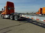 Over a four-year period, Schneider purchased 15,000 intermodal chassis. Photo: Schneider