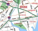 The Sheridan runs between the Cross Bronx Expressway and the Bruckner Expressway in the Bronx.