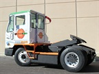 The Orange EV T-Series electric terminal tractor. Photo via Orange EV