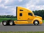 A Kenworth T680 similar to this one took home the ATD Commercial Truck of the Year award in the heavy-duty category.