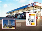 Shell and TravelCenters of America have finalized plans to build a network of liquified natural gas fueling stations.