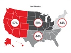 Western states saw the highest telematics adoption rates in the survey.