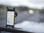The Uber Freight app uses GPS to allow Uber to track what's