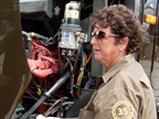 Odom was 23 and working at a boat store in Orlando when she applied for a driver job at UPS in 1973. Photo: UPS