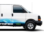 Verizon has tested alternative fueled vehicles like this one but says there are many other ways to go green, including using telematics.