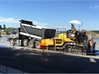 Paver Assist for the I-Shift on Volvo VHD model dump trucks helps