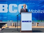 Wabco's Jon Morrison at the grand opening of the company's new facility in North Charleston, S.C. Photo: David Cullen