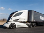Walmart Shows Off Futuristic Tractor-Trailer