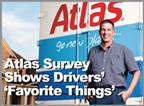 For the King of the Road Survey, 167 Atlas van operators across North America responded, and they represent at least 37 states in the U.S. and seven Canadian provinces.