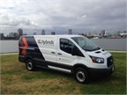 Ford Transit equipped with an XL3 Hybrid system (Photo courtsey of XL