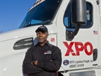 XPO veteran LTL driver Antoine Seegars is one of the company's driving school instructors.  XPO's LTL unit operates the schools at over 80 locations in the U.S. Photo: XPO Logistics