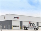 The newly opened full-service Young Truck Sales location in Canton, Ohio: Photo via Volvo Trucks