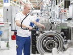 Production of the ZF TraXon heavy-truck automatic transmission in the company's Friedrichshafen, Germany plant. Photos: ZF
