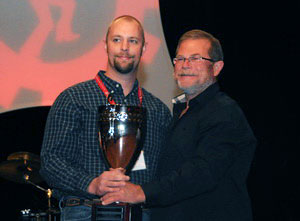 Jason Swann of Rush Truck Centers in Dallas was named the All Around Winner.
