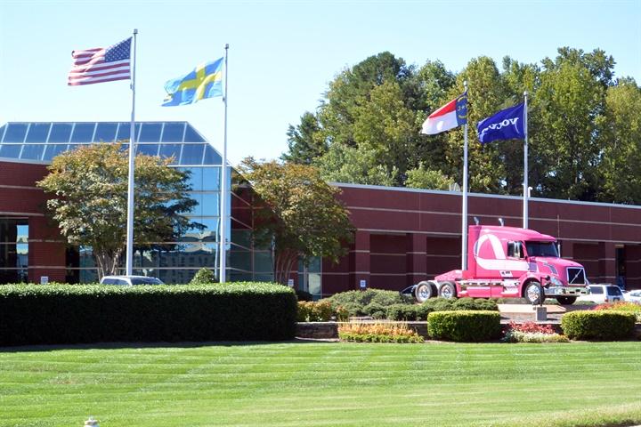 Volvo Trucks North America s corporate headquarters is also located - Volvo's New Greensboro ...