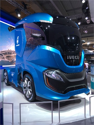 Italy-based truck maker Iveco revealed its Z Truck concept ...