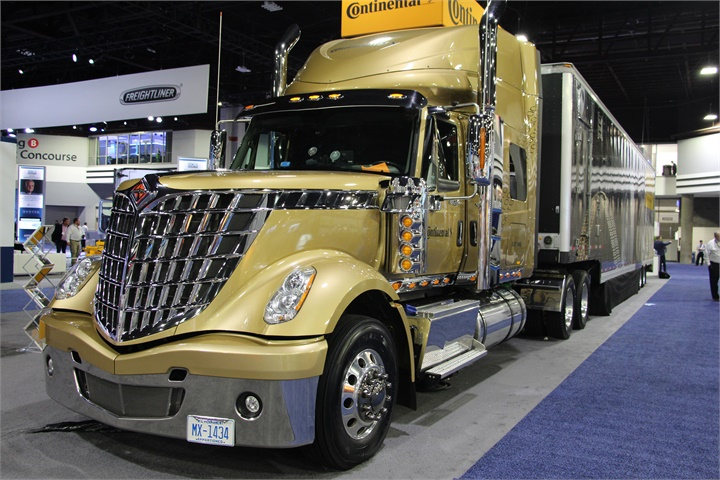 NACV was the first public display of the redesigned LoneStar from