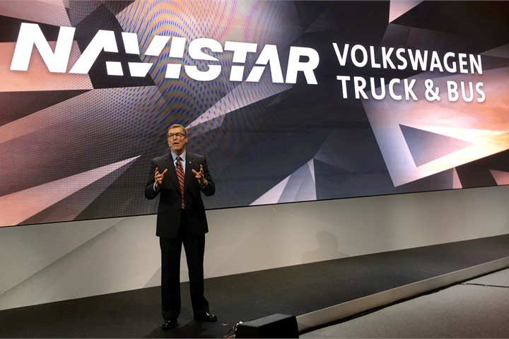 Navistar chief Troy Clarke talks up the OEM s strategic alliance with