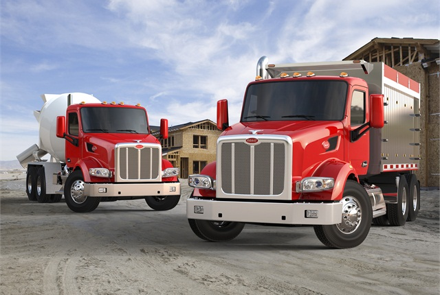 The new Model 567 from Peterbilt is available in two BBC configurations – the 121-inch and 115-inch – in a day cab or with a selection of detachable sleeper configurations.