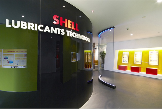 The ninth floor is a customer education area, esplaining lubrication basics. (Photo courtesy Shell)
