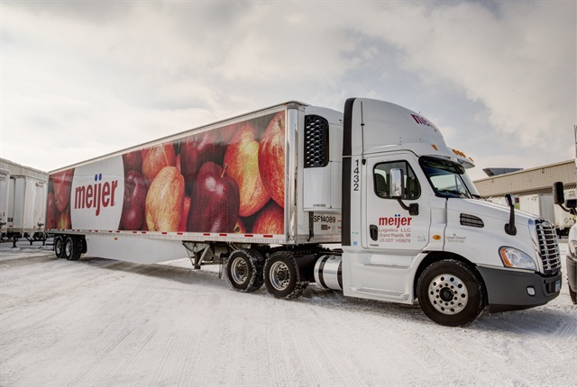 Meijer finished converting its 170-truck fleet of regional daycabs to the 2010 engines last fall, realizing a 47% reduction in particulate matter and a 5% increase in fuel economy.