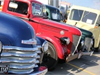 Antique truck display featured more than 150 vehicles