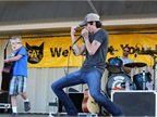 Nashville rising star Chris Janson performed Thursday night.