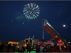Fireworks displays lit up the sky Thursday and Friday nights.
