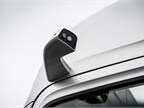 Side mirrors are replaced by aft-facing long and wide angle cameras