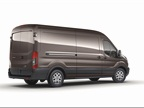 The Ford Transit is available in three roof heights. This is the